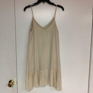 Windsor Dresses - Tan Spaghetti Strap Dress